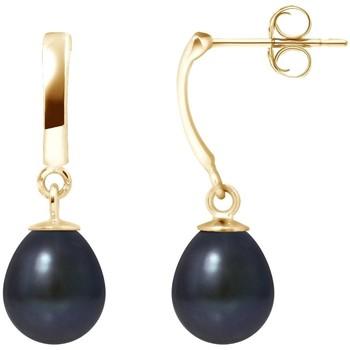Montres & Bijoux Femme Boucles d'oreilles Blue Pearls BPS K615 W Multicolore