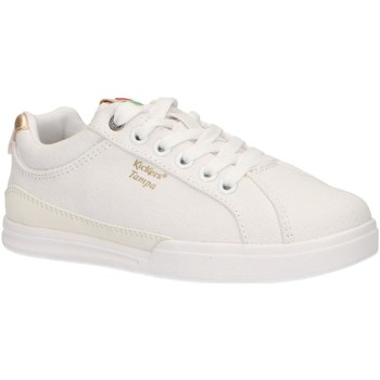 Chaussures Fille Baskets basses Kickers 686090-30 TAMPA CDT Blanco