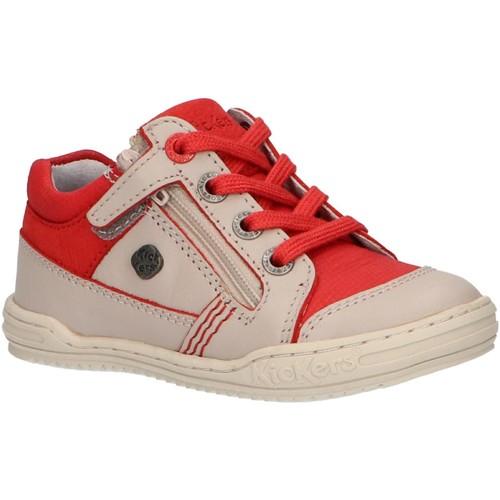 Chaussures Enfant Baskets montantes Kickers 509031-10 JINJANG Gris
