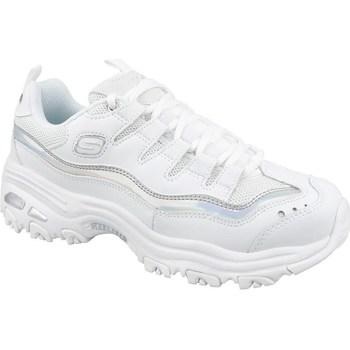 Chaussures Femme Baskets basses Skechers Dlites blanc