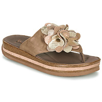 Chaussures Femme Tongs Think ZEGA Beige
