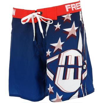 Vêtements Homme Maillots / Shorts de bain Freegun Sta navy/rge boardshort Bleu marine / bleu nuit