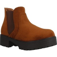 Chaussures Fille Bottines Different 4216 Marron