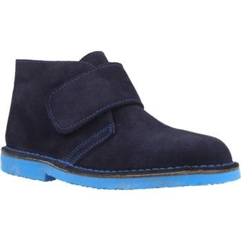 Chaussures Garçon Boots B-Run 513 Bleu