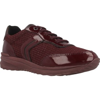 Chaussures Femme Baskets basses Geox D AIRELL A Rouge