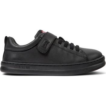 Chaussures enfant Camper Baskets velcro cuir RUNNER FOUR
