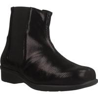 Chaussures Femme Bottines Trimas Menorca 1253T Noir