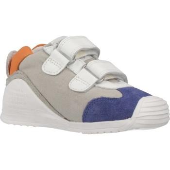 Chaussures Garçon Baskets basses Biomecanics SANDALIA SAUVAGE REJULLA Blanc