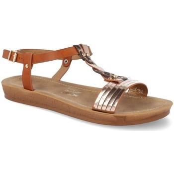 Chaussures Femme Sandales et Nu-pieds Ainy TS-7 Camel