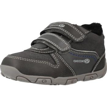 Chaussures Garçon Baskets montantes Geox B BALU' B Gris