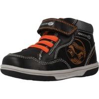 Chaussures Garçon Baskets montantes Geox B9437A Noir