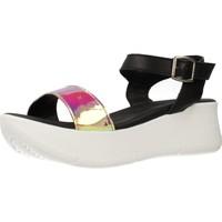 Chaussures Femme Sandales et Nu-pieds Clover 15741C Noir