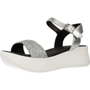 Chaussures Femme Sandales et Nu-pieds Clover 15741C Gris