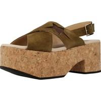 Chaussures Femme Sandales et Nu-pieds Clover 7129C Vert