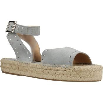 Chaussures Femme Espadrilles Clover 7936C Bleu
