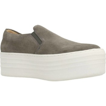 Chaussures Femme Slip ons Clover 89844 Gris