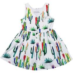 Vêtements Fille Robes courtes Interdit De Me Gronder DESERT Multicolore