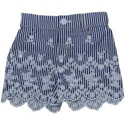 Vêtements Fille Shorts / Bermudas Interdit De Me Gronder RIO Bleu marine