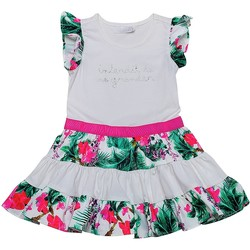 Vêtements Fille Robes Interdit De Me Gronder HIBISCUS Rose fuschia