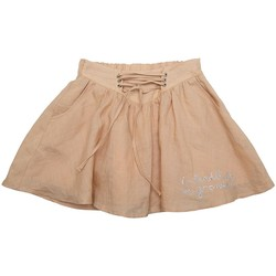 Vêtements Fille Jupes Interdit De Me Gronder SAHARA Beige