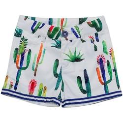 Vêtements Fille Shorts / Bermudas Interdit De Me Gronder SANTANA Multicolore