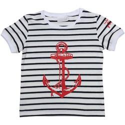 Vêtements Enfant T-shirts manches courtes Téléchargez lapplication pour ANCRE Bleu marine
