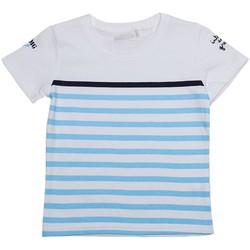 Vêtements Enfant T-shirts manches courtes Interdit De Me Gronder MER Bleu ciel