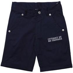 Vêtements Garçon Shorts / Bermudas Interdit De Me Gronder PLAYA Bleu marine