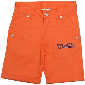 Vêtements Garçon Shorts / Bermudas Interdit De Me Gronder PLAYA Orange