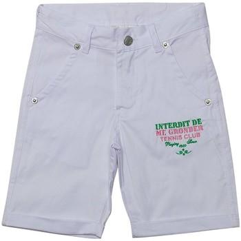 Vêtements Enfant Shorts / Bermudas Interdit De Me Gronder MATCH Blanc