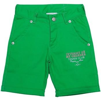 Vêtements Garçon Shorts / Bermudas Interdit De Me Gronder MATCH Vert