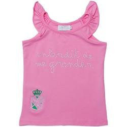 Vêtements Fille Débardeurs / T-shirts sans manche Interdit De Me Gronder CITY Rose