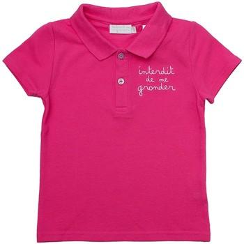 Vêtements Fille Polos manches courtes Téléchargez lapplication pour HOLLY Rose fuschia