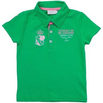 Vêtements Enfant Polos manches courtes Interdit De Me Gronder OXFORD Vert