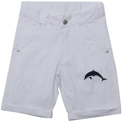 Vêtements Garçon Shorts / Bermudas Interdit De Me Gronder PLAYITA Blanc