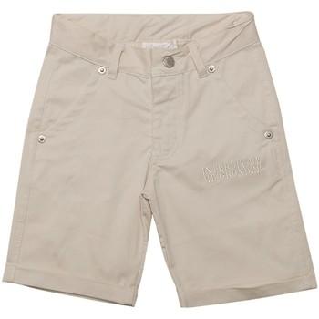 Vêtements Garçon Shorts / Bermudas Interdit De Me Gronder FOREST Beige
