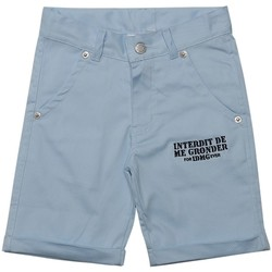 Vêtements Garçon Shorts / Bermudas Interdit De Me Gronder AMIRAL Bleu ciel