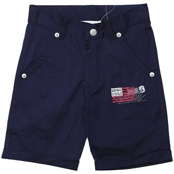 Vêtements Garçon Shorts / Bermudas Interdit De Me Gronder TEXAS Bleu marine