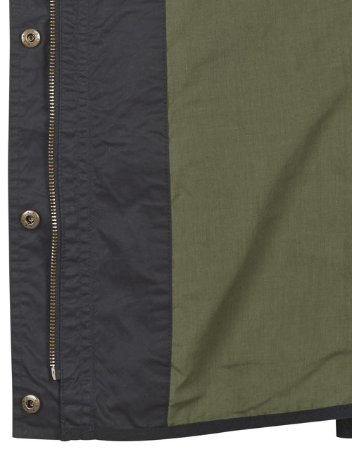 Femme Jacket Lauren Field Ralph Parkas Noir wON8Pnk0X
