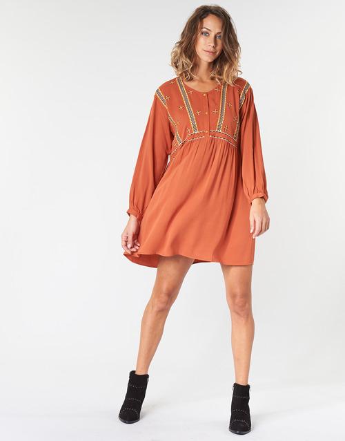 LOULIA  Betty London  robes courtes  femme  orange