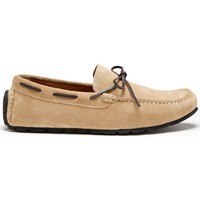 Chaussures Homme Mocassins Hugs & Co. Lacé Mocassins Pneu Daim Taupe