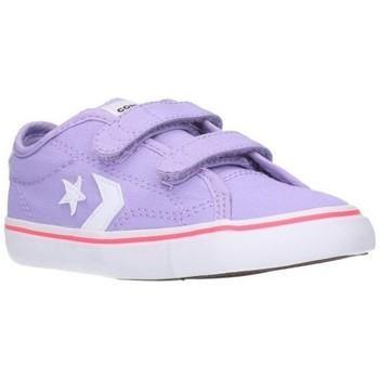 Chaussures Garçon Baskets basses Converse 764442C Niño Morado violet