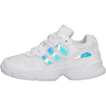 Chaussures Garçon Baskets basses adidas Originals - Yung-96c bianco EE6741 BIANCO