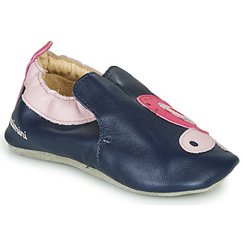 Chaussures Fille Chaussons Catimini CITOLA Marine / Rose