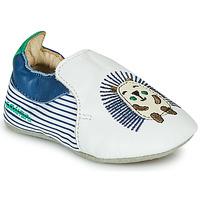 Chaussures Garçon Chaussons Catimini COFFI Blanc / Marine