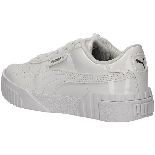 Chaussures Fille Baskets basses Puma 370140-01 BLANC