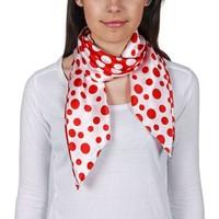 Accessoires textile Femme Echarpes / Etoles / Foulards Allée Du Foulard Carré de soie Premium Ofana Rouge
