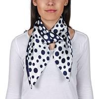 Accessoires textile Femme Echarpes / Etoles / Foulards Allée Du Foulard Carré de soie Premium Ofana Marine