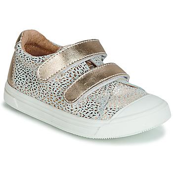 Chaussures Fille Baskets basses GBB NOELLA Doré