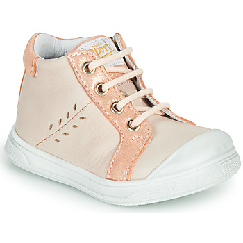 Chaussures Fille Baskets montantes GBB AGAPE Rose